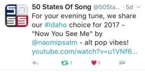 idahoTune 300x150 - Naomi Psalm: Singer, Songwriter, and More