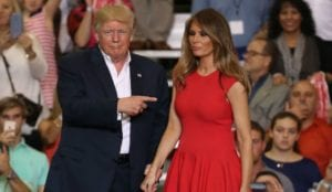Donald and Melania 300x174 - Reaction: The Problem with Trump
