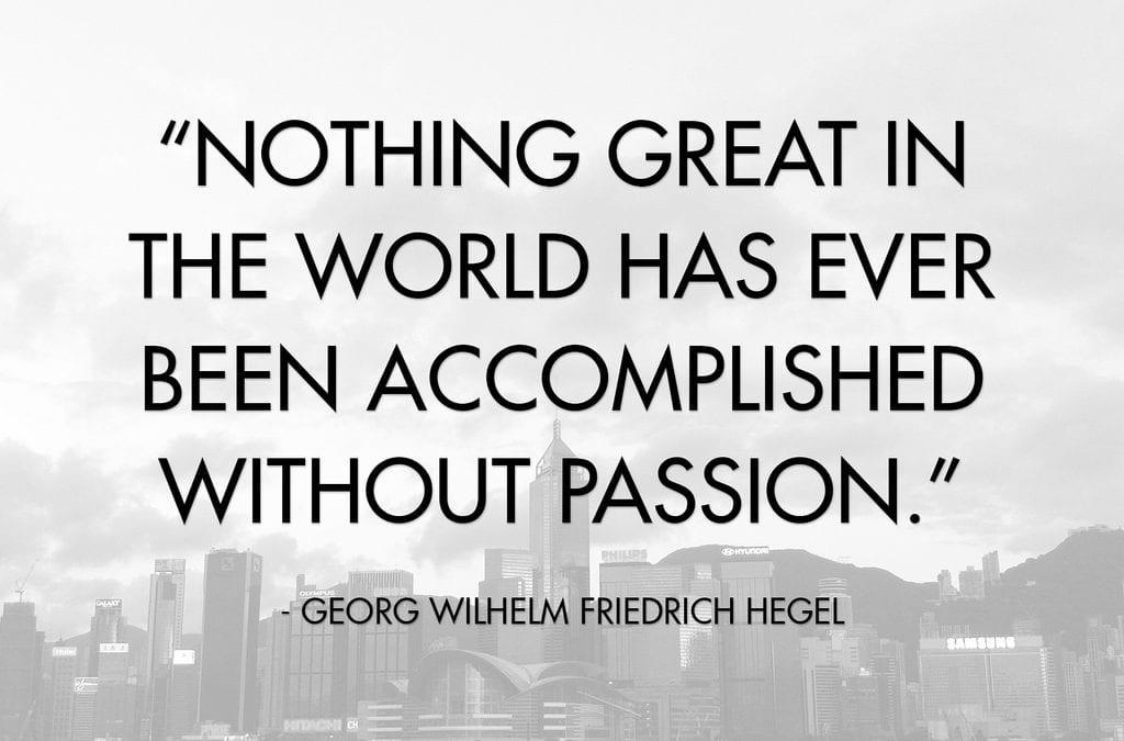 World Changing Passion