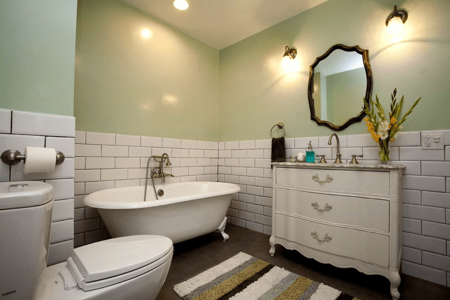 bathroom5 - Create a Minimalistic Bathroom Theme with Smart Accessories
