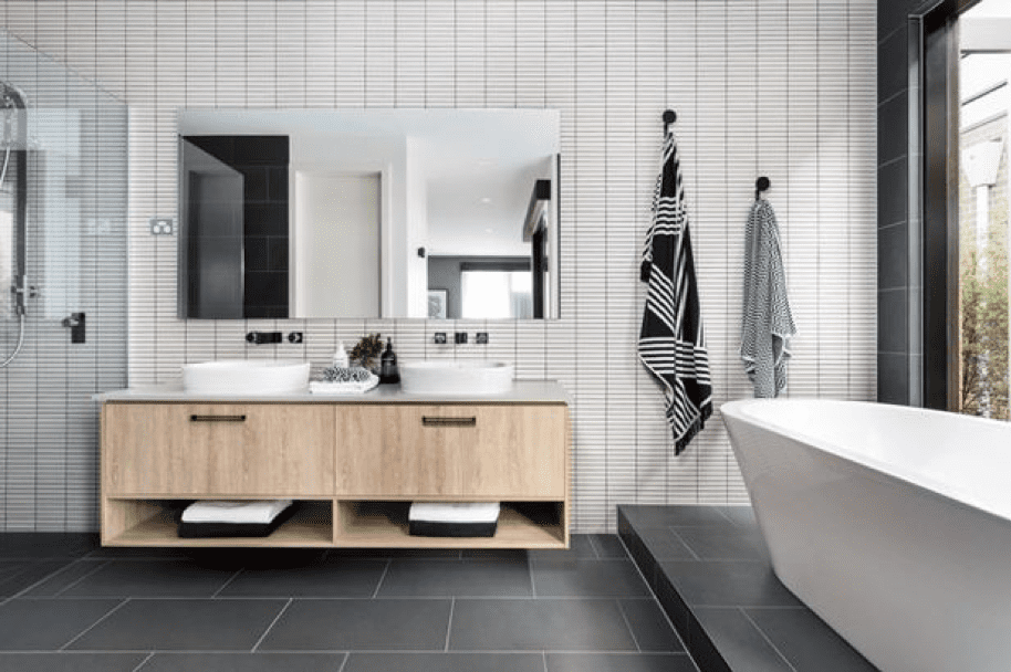 bathroom6 - Create a Minimalistic Bathroom Theme with Smart Accessories