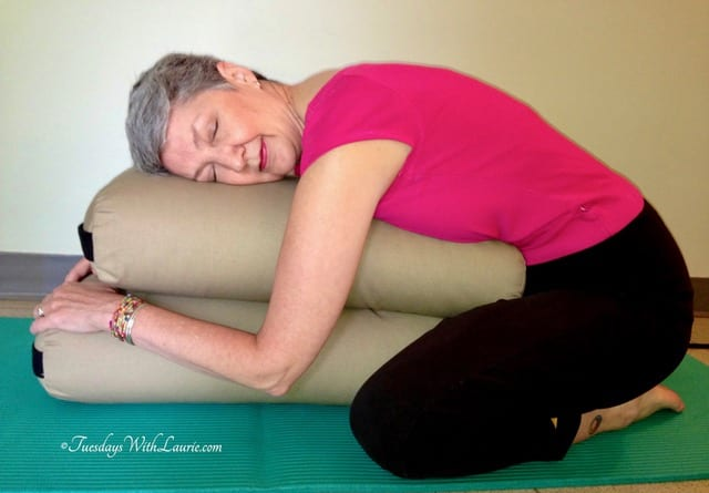 fullsizeoutput 7f5a - Restorative Yoga—Supported Child's Pose